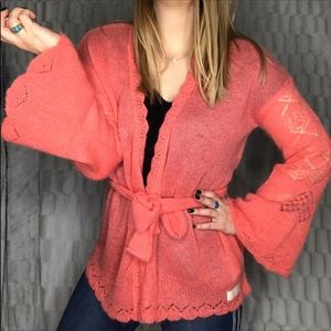 NEW Odd Molly Mohair Bell Sleeve Cardigan Sweater